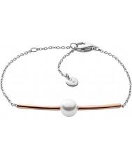 Skagen SKJ0918998 Ladies Agnethe rose goud vergulde armband