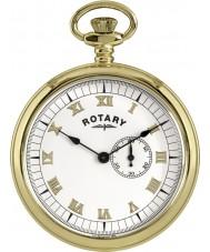 Rotary MP00731-01 Mens verguld zakhorloge