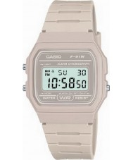 Casio F-91WC-8AEF Mens retro inzameling steen chronograafhorloge