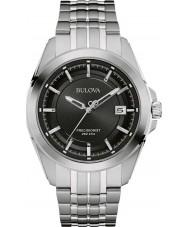 Bulova 96B252 Mens precisionist zilveren stalen armband horloge
