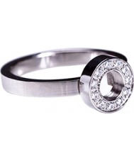 Edblad 79098 Ladies eeuwigheid mini stalen ring - size q (l)
