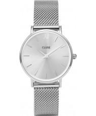 Cluse CL30023 Ladies Minuit mesh horloge