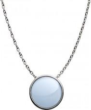 Skagen SKJ0790040 Ladies zee glas zilver gepolijst ketting