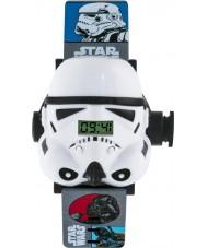 Star Wars STM3429 Jongens stormtrooper projectie horloge met veelkleurige plastic band