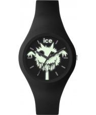 Ice-Watch 001446 Ice-ghost exclusieve zwarte siliconen band horloge