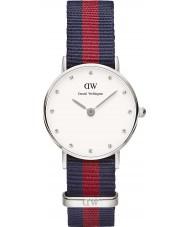 Daniel Wellington DW00100072 Ladies classy Oxford 26mm zilveren horloge