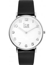 Ice-Watch 001502 City-leerlooier exclusieve zwart lederen band horloge