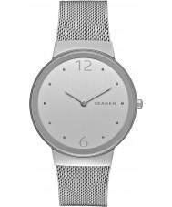 Skagen SKW2380 Ladies freja zilveren stalen armband horloge