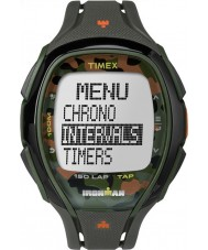 Timex TW5M01000 Ironman 150-lap full size strak camo hars riem chronograafhorloge