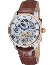 Thomas Earnshaw ES-8006-08 Mens lengte bruine croco lederen band horloge