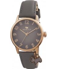 Radley RY2248 Ladies oversized hond charme horloge met buideldier lederen band