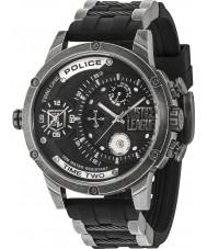 Police 14536JQ-02P Mens rechtvaardigheid liga horloge