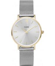 Cluse CL30024 Ladies Minuit mesh horloge