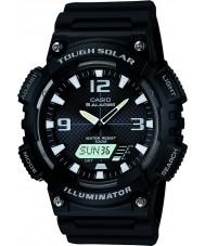 Casio AQ-S810W-1AVEF Collectie zwarte Tough Solar wereld tijd horloge