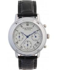 Krug-Baumen 2011KL Ladies principe klassiek zwart horloge