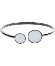 Skagen SKJ0788040 Ladies zee glas zilver gepolijst armband