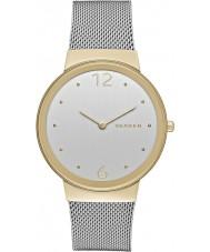 Skagen SKW2381 Ladies freja zilveren stalen armband horloge