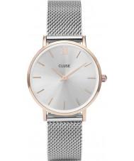 Cluse CL30025 Ladies Minuit mesh horloge