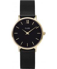 Cluse CL30026 Ladies Minuit mesh horloge