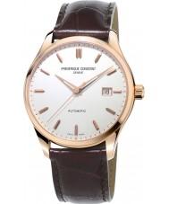 Frederique Constant FC-303V5B4 Mens klassiekers index bruine lederen band horloge