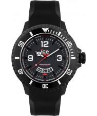 Ice-Watch DI.BW.XL.R.12 Mens ice-surf extra grote zwarte horloge