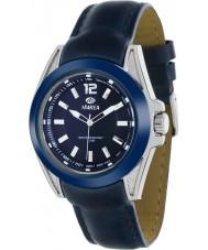 Marea 54048-2 Mannenmode marine piel lederen band horloge