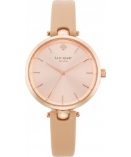 Kate Spade New York 1YRU0812 Ladies holland Vachetta lederen band horloge