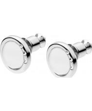 Skagen SKJ0103040 Ladies zee glas zilveren steen set oorbellen