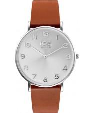 Ice-Watch 001507 City-leerlooier exclusieve bruine lederen band horloge