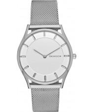 Skagen SKW2342 Dames slanke holst zilveren stalen armband horloge