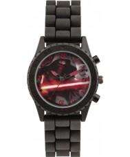 Star Wars SWM3053 Jongens Kylo ren horloge met zwarte siliconen band