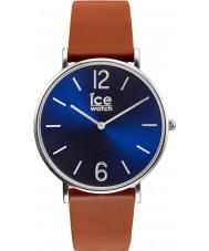 Ice-Watch 001508 City-leerlooier exclusieve bruine lederen band horloge