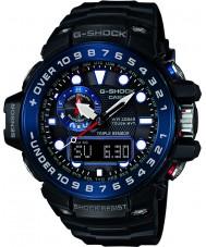 Casio GWN-1000B-1BER Mens G-SHOCK premium radiogestuurde op zonne-energie horloge