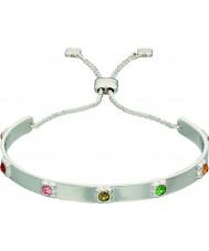 Orla Kiely B4850 Ladies sterling zilveren bloem armband met swarovski informatie