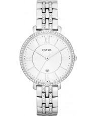 Fossil ES3545 Ladies jacqueline zilver toon stalen horloge
