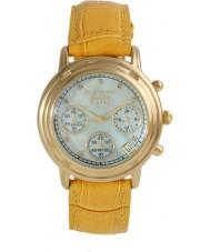 Krug-Baumen 150574DM Mens principe diamant chronograaf