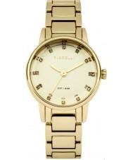 Fiorelli FO020GM Dames vergulde armband horloge