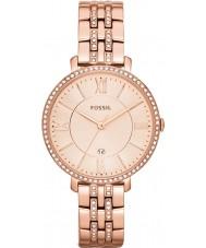 Fossil ES3546 Ladies jacqueline rose goud toon horloge