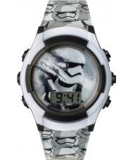 Star Wars SWM3069 Jongens storm trooper horloge met grijze kunststof band