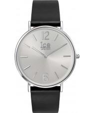 Ice-Watch 001514 City-leerlooier exclusieve zwart lederen band horloge