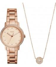 Fossil ES4330SET Dames neely horloge geschenkset