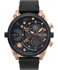 Police 15381JSRB-61 Mens vitaliteit horloge