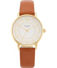 Kate Spade New York 1YRU0835 Ladies metro bruine lederen band horloge