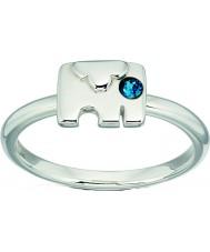 Orla Kiely Dames sterling zilveren ring