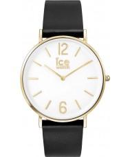 Ice-Watch 001516 City-leerlooier exclusieve zwart lederen band horloge
