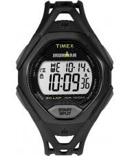 Timex TW5M10400 Mens ironman strak zwart kunststof band horloge