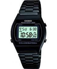 Casio B640WB-1AEF Mens retro collectie digitaal zwart horloge