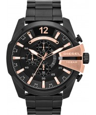 Diesel DZ4309 Mens mega chief zwart ip chronograafhorloge