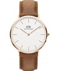 Daniel Wellington DW00100109 Classic 40mm durham rose gouden horloge