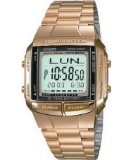Casio DB-360GN-9AEF Collection databank vergulde horloge